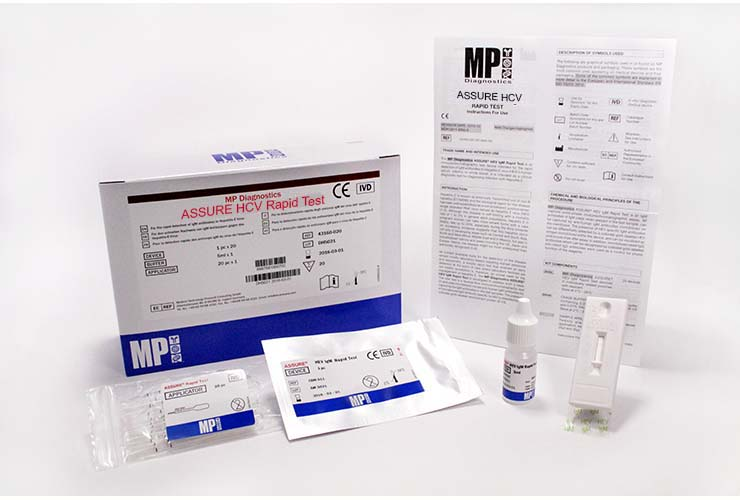 The Only HCV Screening Test that detects Cp, NS3, NS4 & NS5