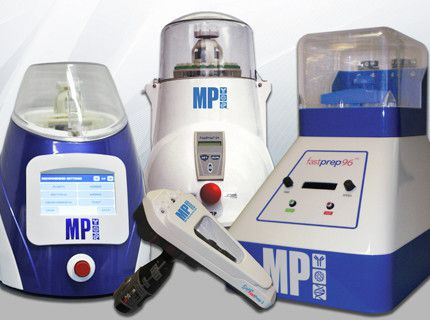 FastPrep® Sample Preparation Instruments